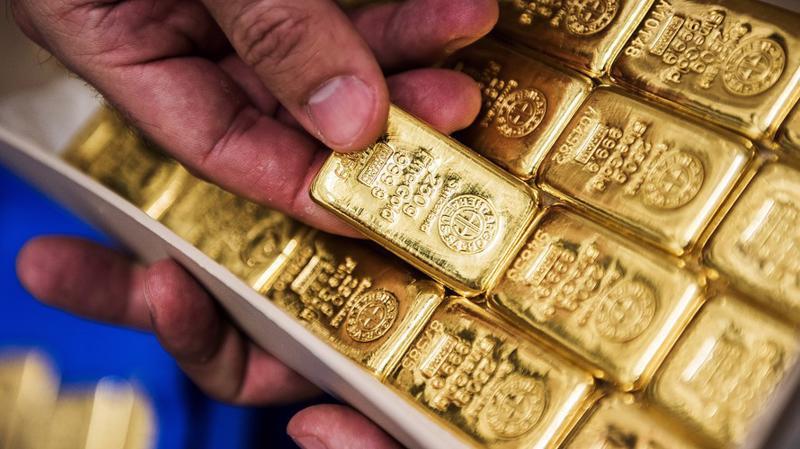 Đồng USD hồi phục khiến giá vàng chững lại sau đợt tăng mạnh vào tuần trước - Ảnh: Bloomberg/MarketWatch.