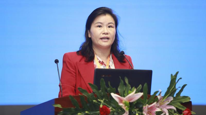 Tỷ phú Trung Quốc Chu Quần Phi - Ảnh: Getty/Bloomberg.