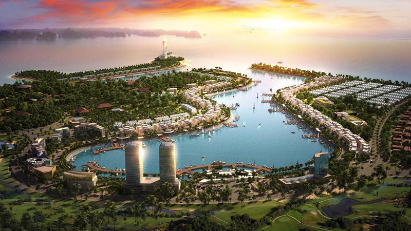 So với các dự án shophouse, mini hotel trong khu vực, Tuần Châu Marina là dự án shophouse/ mini hotel ven biển đắt giá nhờ lợi thế vị trí đắc địa.