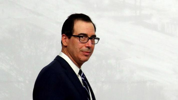 Bộ trưởng Bộ Tài chính Mỹ Steven Mnuchin - Ảnh: Reuters.