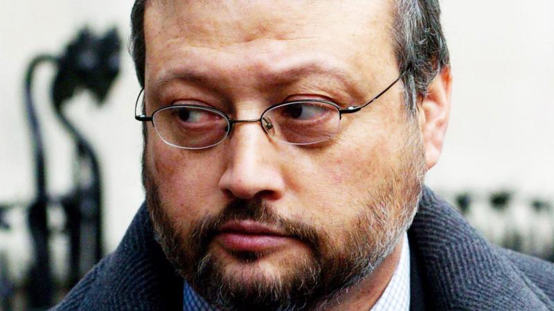 Nhà báo Jamal Khashoggi lúc còn sống.