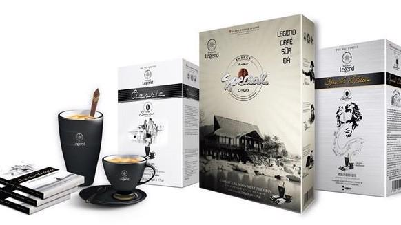 Thương hiệu Trung Nguyên Legend và bộ sản phẩm cà phê năng lượng Trung Nguyên Legend.