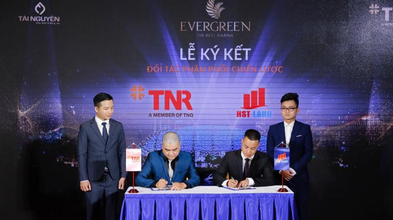 TNR Việt Nam ký kết phân phối chiến lược cùng HST Land..