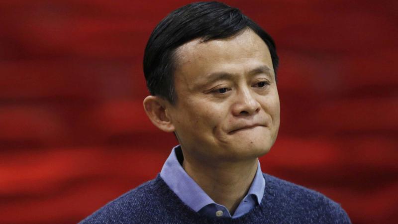 Tỷ phú Jack Ma, người giàu nhất Trung Quốc năm 2018 theo xếp hạng của tạp chí Forbes.