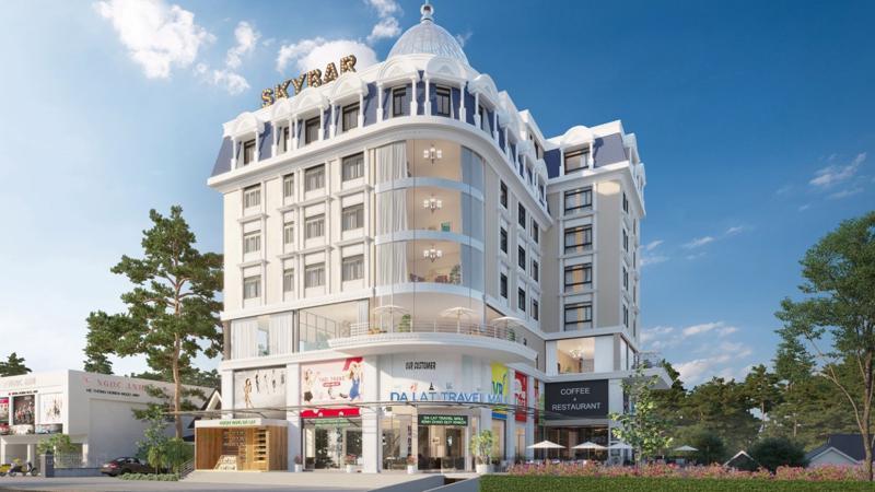 Phối cảnh Đà Lạt Travel Mall.