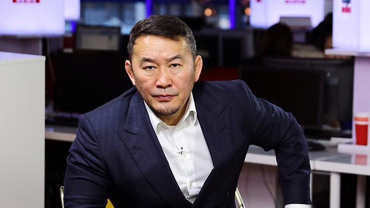 Tổng thống Mông Cổ Khaltmaa Battulga - Ảnh: AKIpress.
