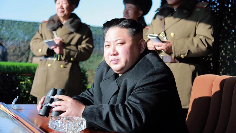 Nhà lãnh đạo Triều Tiên Kim Jong Un - Ảnh: KCNA/Getty.