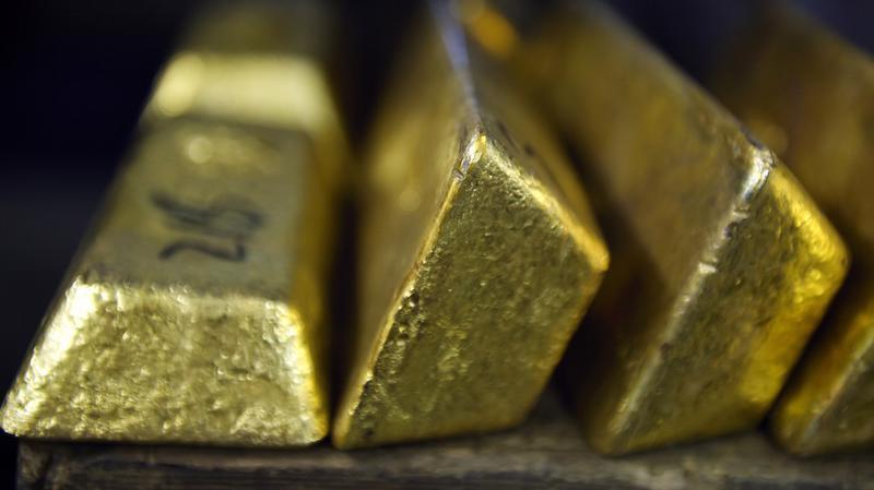 Đồng USD tăng giá và việc FED tăng lãi suất vẫn là nguồn áp lực giảm giá lớn nhất với vàng - Ảnh: Bloomberg/MarketWatch.