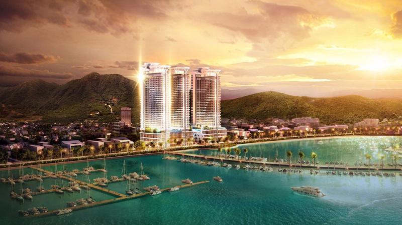 Swisstouches La Luna Resort nổi bật trong các dự án condotel Nha Trang.
