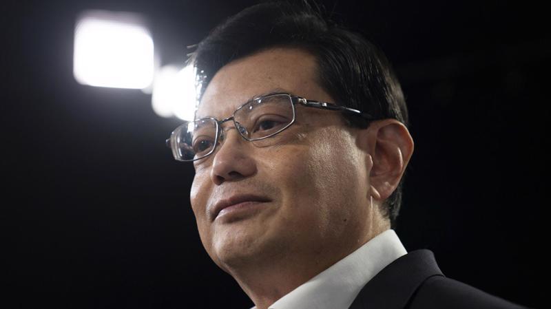 Ông Vương Thụy Kiệt, Phó tổng bí thư thứ nhất Đảng Hành động nhân dân (PAP) cầm quyền của Singapore - Ảnh: Bloomberg/SCMP.