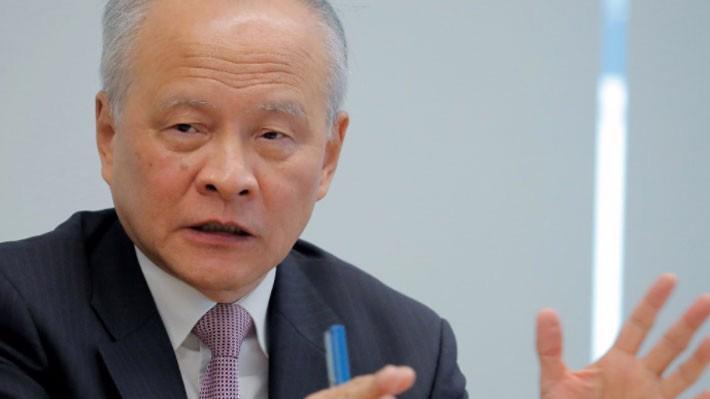 Đại sứ Trung Quốc tại Mỹ Thôi Thiên Khải - Ảnh: Reuters.