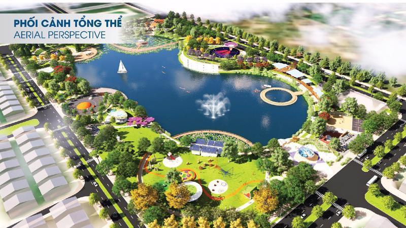 Công viên Thiên Văn Học rộng 12ha tại Khu đô thị Dương Nội - Tố Hữu - Hà Đông.