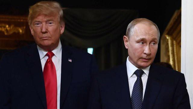Tổng thống Mỹ Donald Trump (trái) và Tổng thống Nga Vladimir Putin - Ảnh: Getty.