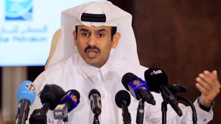 Bộ trưởng Bộ Năng lượng Qatar, ông Saad al-Kaabi - Ảnh: Reuters.
