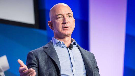 Nhà sáng lập Amazon.com, ông Jeff Bezos - Ảnh: Getty/CNBC.