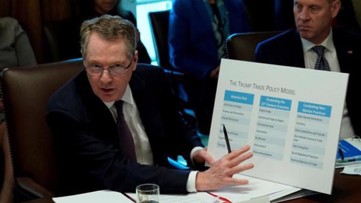 Đại diện thương mại Mỹ Robert Lighthizer - Ảnh: Reuters.