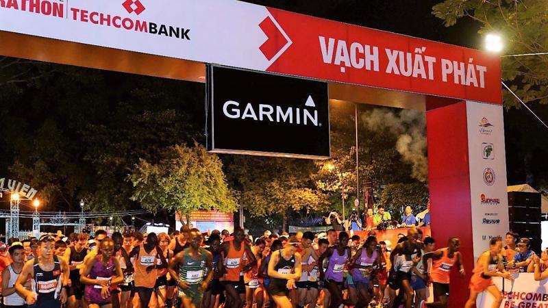 Giải marathon quốc tế Tp.HCM Techcombank 2018 đã khẳng định mạnh mẽ tinh thần thể thao không biên giới.