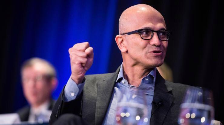 CEO Satya Nadella của Microsoft - Ảnh: CNBC.