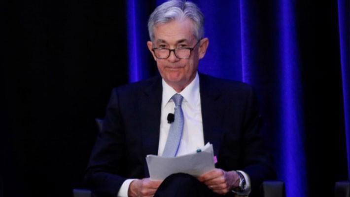 Chủ tịch FED Jerome Powell phát biểu tại Atlanta ngày 4/1 - Ảnh: Reuters.