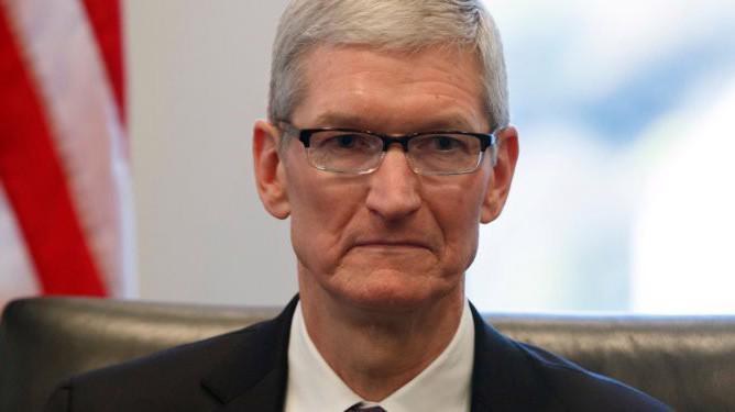 Tổng giám đốc (CEO) Apple, ông Tim Cook.