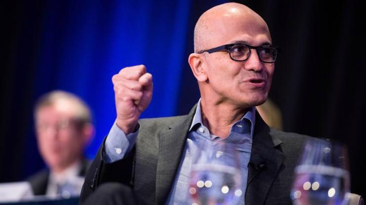 Tổng giám đốc Satya Nadella của Microsoft - Ảnh: CNBC.