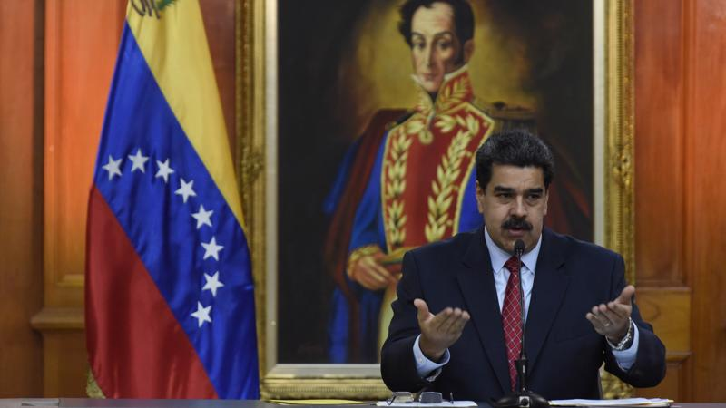 Tổng thống Nicolas Maduro của Venezuela - Ảnh: Bloomberg.