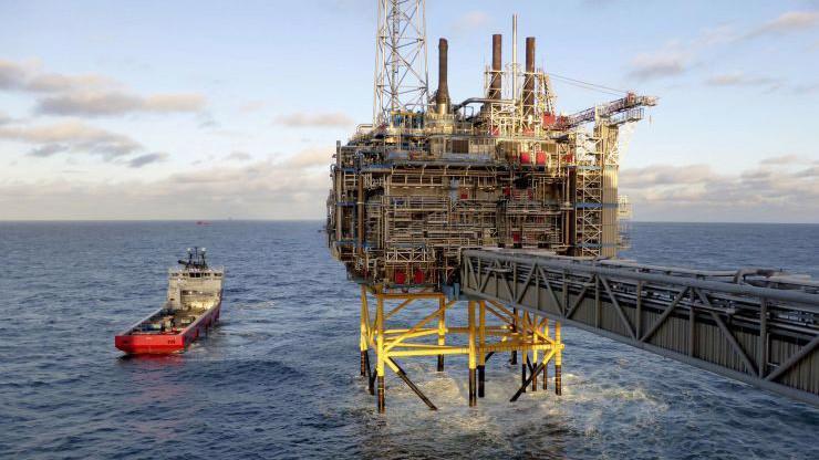 Một giàn khoan dầu ngoài khơi Na Uy - Ảnh: Getty/CNBC.