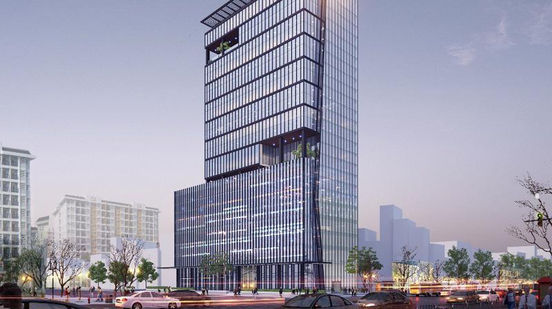 Tòa nhà Leadvisors Tower, 36 Phạm Văn Đồng dự kiến khai trương trong quý 3/2019.