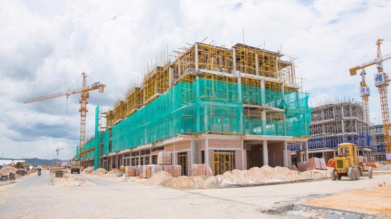 """Với tâm huyết và sự chuyên nghiệp của chủ đầu tư New Vision, Grand World Phú Quốc đang được xây dựng với tốc độ """"thần tốc""""."""