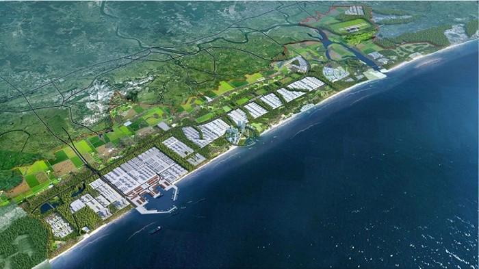 Khu kinh tế biển Đông Nam Quảng Trị (nguồn Internet).