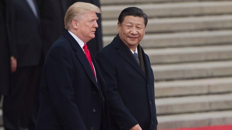 Tổng thống Mỹ Donald Trump (trái) và Chủ tịch Trung Quốc Tập Cận Bình - Ảnh: Getty/CNBC.