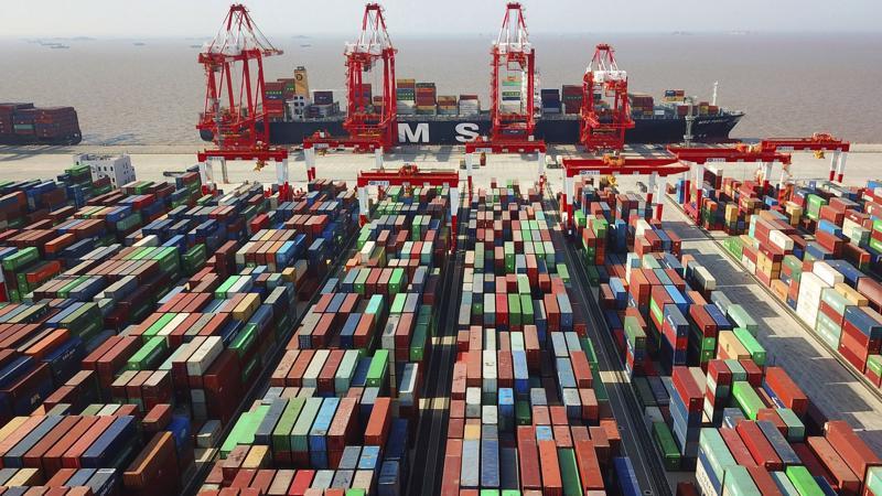 Một cảng biển của Trung Quốc - Ảnh: FT.