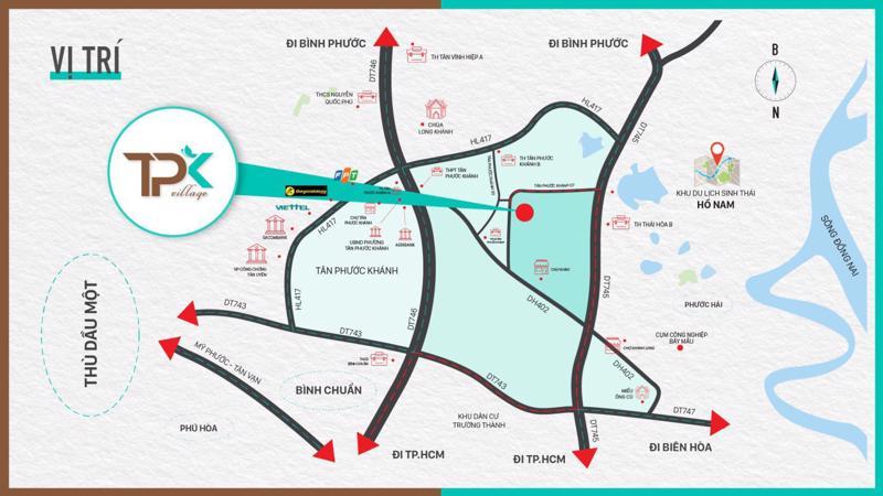 """Tân Phước Khánh Village sở hữu nhiều ưu điểm để các nhà đầu tư """"chọn mặt gửi vàng"""" ."""