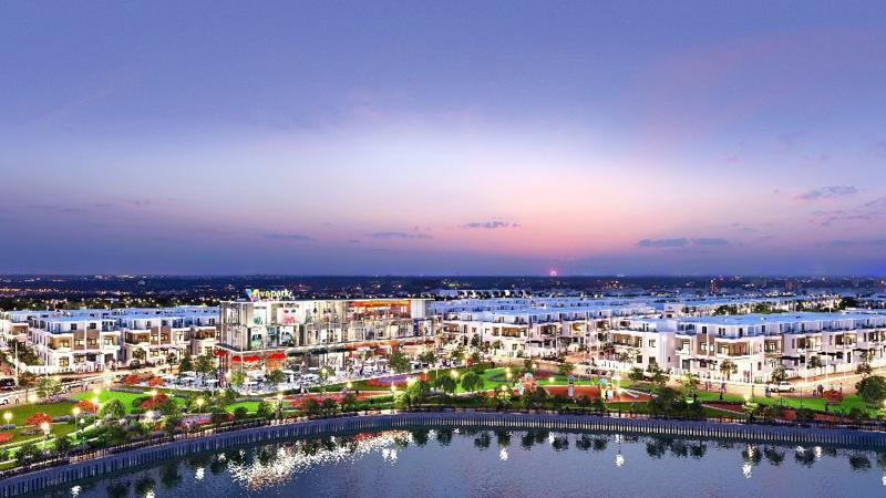 Khu đô thị Viva Park tại Trảng Bom có mức vốn đầu tư hơn 1.000 tỷ đồng.