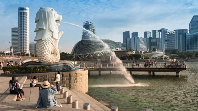 Hạ tầng công nghệ hiện đại là một thế mạnh nổi trội của Singapore.