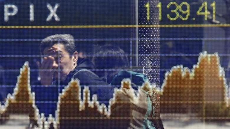 Phiên giảm này của chứng khoán châu Á nối tiếp phiên giảm vào đêm qua của chứng khoán Mỹ - Ảnh: Reuters.