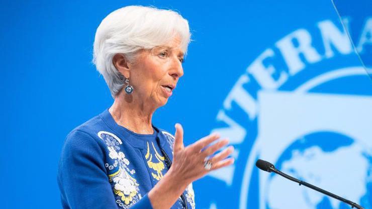 Tổng giám đốc IMF Christine Lagarde - Ảnh: Getty/CNBC.