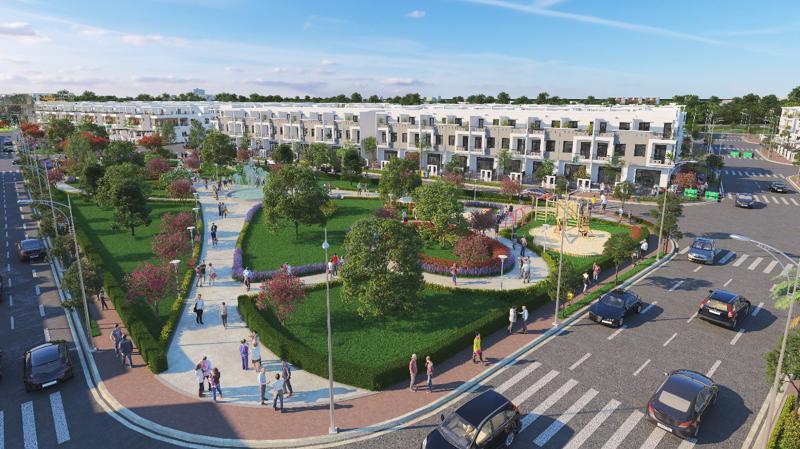 Khu đô thị thông minh Viva Park ở Trảng Bom có tổng vốn đầu tư hơn 1.000 tỷ đồng.