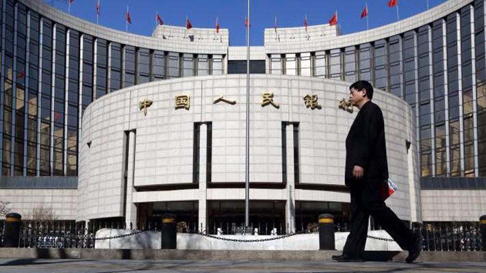 Trụ sở Ngân hàng Trung ương Trung Quốc (PBoC) tại Bắc Kinh - Ảnh: Bloomberg/CNBC.