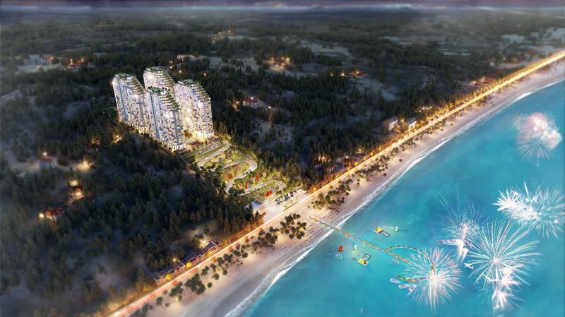 Dự án Apec Mandala Wyndham Mũi Né sẽ do Coteccons làm tổng thầu xây dựng.