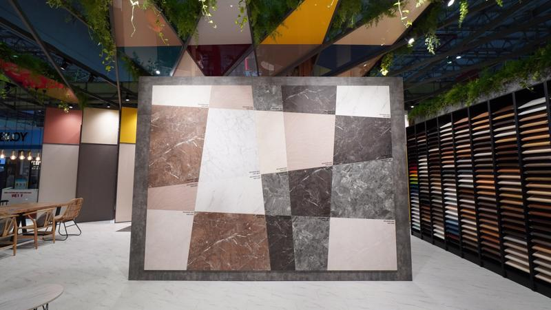 Sản phẩm gỗ nội thất giả đá đồng màu ván sàn của Gỗ An cường giúp khách hàng có thêm nhiều sự lựa chọn trong thiết kế, thi công.