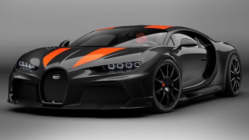 Siêu xe Bugatti Chiron Super Sport 300+.