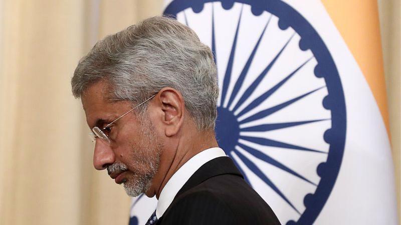 Ngoại trưởng Ấn Độ Subrahmanyam Jaishankar - Ảnh: Bloomberg.