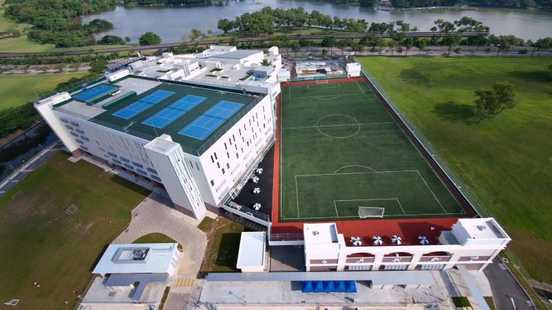 Một cơ sở của Trường Quốc tế Canada ở Singapore.