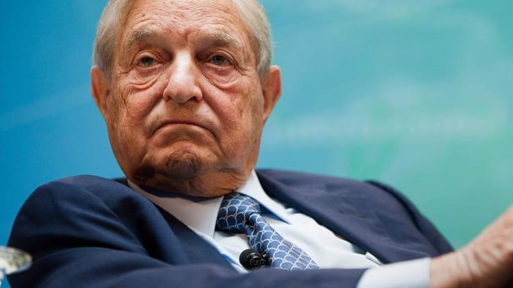 Tỷ phú, nhà đầu cơ George Soros - Ảnh: CNBC.