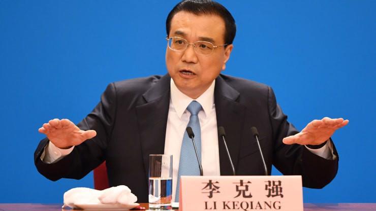 Thủ tướng Trung Quốc Lý Khắc Cường - Ảnh: Reuters/CNBC.