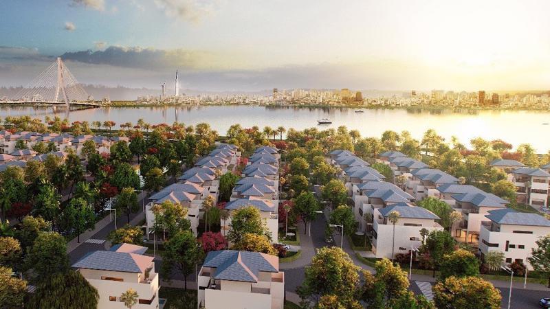 """Với những khu đô thị xanh và hiện đại như King Bay, Nhơn Trạch sẽ là một """"Đông Sài Gòn"""" sầm uất trong tương lai."""