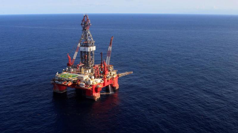 Một giàn khoan dầu trên Vịnh Mexico của Mỹ - Ảnh: Reuters.