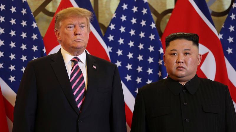 Từ tháng 6 năm ngoái đến nay, ông Trump và ông Kim đã gặp nhau ba lần - Ảnh: Reuters.