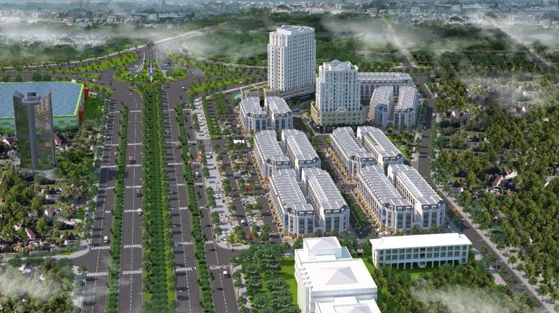 Dự án Eurowindow Garden City nằm ngay sát trung tâm hành chính mới của thành phố Thanh Hóa.